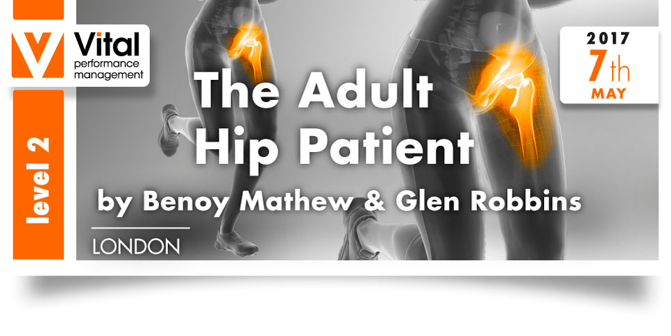 The Adult Hip Patient Level 2 London 7th May 2017